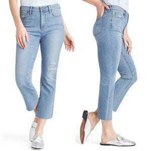 Sam Edelman Stiletto Crop Kick Flare High Jean $98